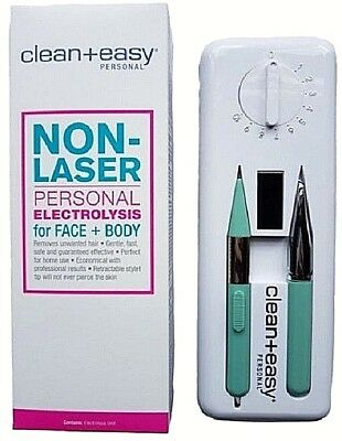 Clean + Easy Non-Laser Personal Electrolysis for Face/Body  --  FREE SHIPPING!