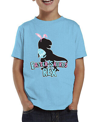 25e04871 Eastersaurus Rex Dinosaur Easter Funny April Egg Hunt Infant Toddler T-Shirt