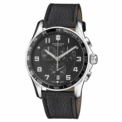 Victorinox Swiss Army Infantry Classic XLS Black Dial Men's Watch #241651