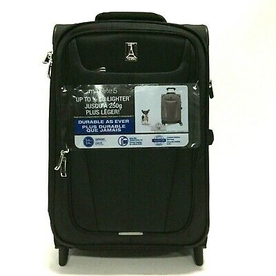 ab2c9c3b4 TravelPro Maxlite 5 Lightweight Expandable Carry-On Rollaboard Suitcase  Luggage