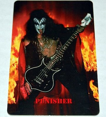 09df024dc KISS Band Gene Simmons Punisher Bass Telephone Phone Card Creative  Communication
