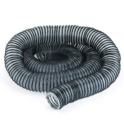 2.5-Inch Diameter x 10-Foot Length Light-Duty Semi-Clear Dust Collection Hose
