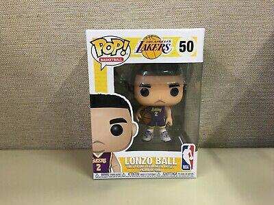 Funko Pop! Basketball: NBA - Los Angeles Lakers Lonzo Ball #50 New In Box