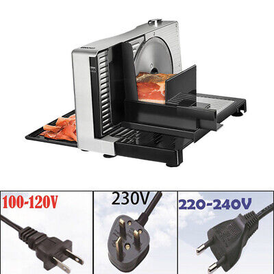 100RPM Electric Food Slicer Household Fruit Slice Shred Cut Meat Planing Machine