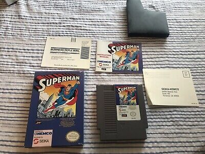 Superman NES Complete Nintendo Games