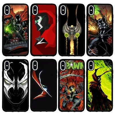 Spawn Superhero Jim Downing Logo TPU Cover Case For iPhone 7 8 Plus X XR XS Max