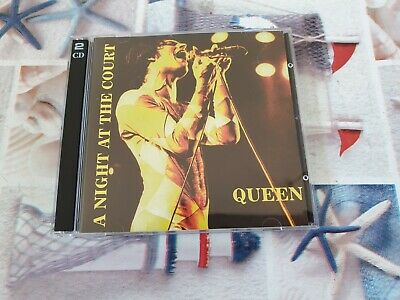 Queen A Night At The Court 2Cd Live London 6-6-77 E Live Birmingham 21-11-73