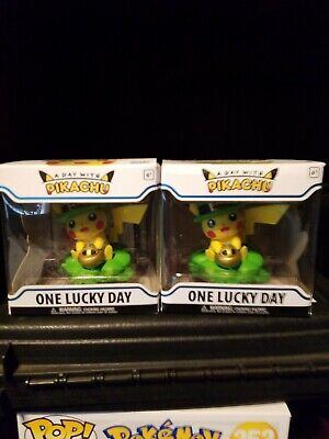 Pokemon A Day with Pikachu One Lucky Day Funko Pokemon Center  IN HAND