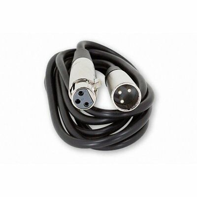 6Ft 6 Foot XLR 3-Pin Male to Female Microphone Audio Mic Balanced Cord Cable