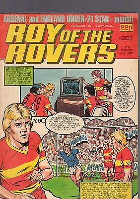 (-0-) Roy Of The Rovers Comic 31St March 1984