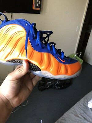 newest 061eb 8db50 Nike Air Foamposite One NY Knicks Penny s Size 10.5 Mens 314996 801