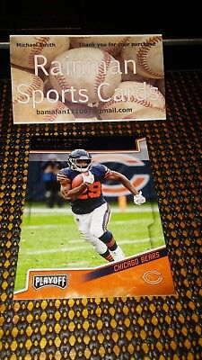 71913d5acee9e 2018 PLAYOFFS CHICAGO Bears Monsters of the Midway Team Roster Card ...