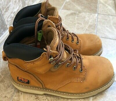 337e515ee28 TIMBERLAND PRO MENS Pit Boss Wheat Work & Safety Boots Size 10.5 ...