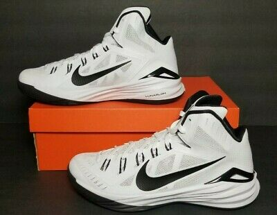 386c347e1ff9a NIKE HYPERDUNK 2014 Tb Team White / Black Men's Basketball Shoes 653483-100