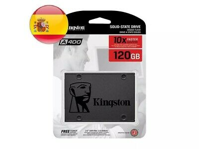 "[ORIGINAL] Disco duro SSD Kingston A400 120GB 2.5"" Interno 240 SA400S37 480 gb"