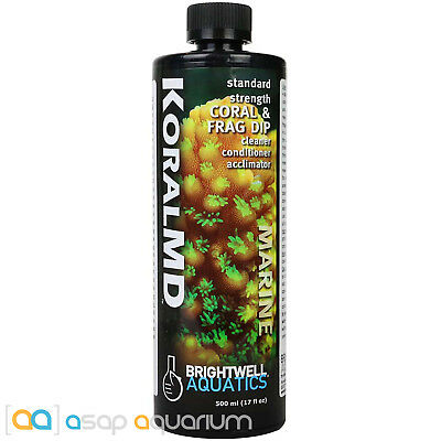 Brightwell Koral MD Coral and Frag Dip 500 ml FAST FREE USA SHIPPING
