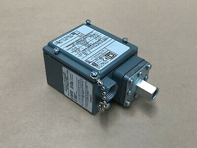 SQUARE D 9012 GAW-5 series C PRESSURE SWITCH