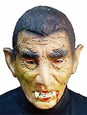 Dracula Horror Party Mask Rubber Head Costume for Halloween Christmas