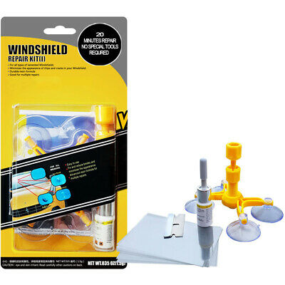 DIY Premium Windscreen Crack Repair Kit Car Chip Windshield Glass Wind Screen UK