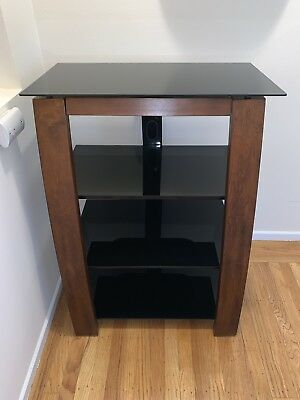 Whalen Furniture Audio Media Tower Black Cherry Local Pickup
