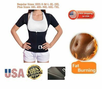 Talla Plus Faja Reductora  Mujer Sauna chaleco Hot USA 100% Neoprene Vest Shaper