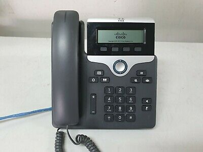 Cisco CP 7811 CP-7811-K9 Unified IP VOIP Greyscale Telephone Phone
