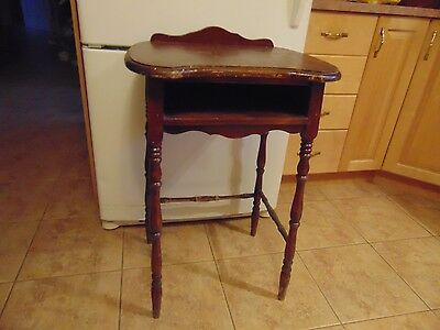antique /vintge wooden  stand  nice   # 1420