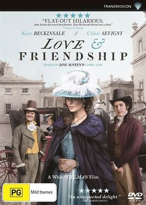 Love & and Friendship (DVD, 2016), NEW SEALED..REGION 4.. d3188