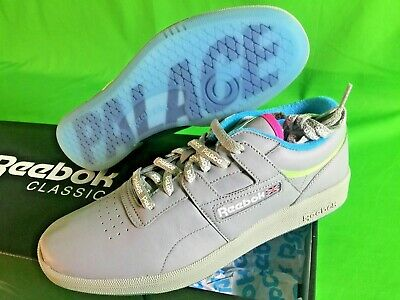 cbcb646d632af Reebok x Palace Club Workout Grey   Neon Orange   Neon SZ 9 NIB Authentic DS