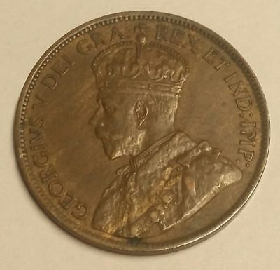 1915 1C Canada Large Cent World Coin Free Shipping!!!