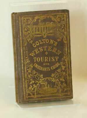 oseph / Colton's Traveler and Tourist's Guide-Book Through the Western 1856