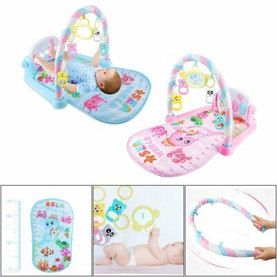 Fitness BABY GYM PLAY MAT 8-Mode Lay & Play Music And Lights Fun Piano  TY