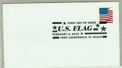 Us Stars And Stripes 2018 Scott #5262 Us Flag Apu Forever Stamp First Day Cover