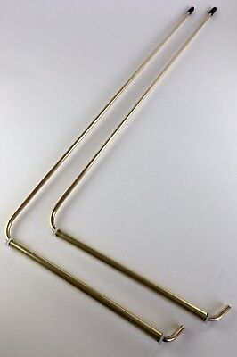 BRASS DOWSING/DIVINING RODS~WATER Witching~Treasure Hunt