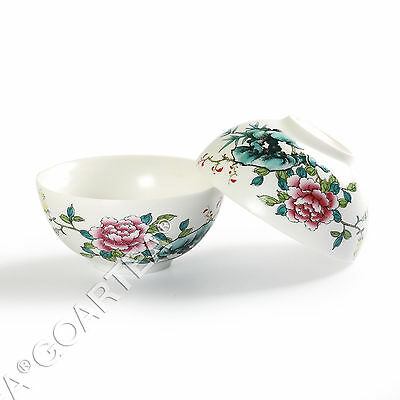 35ml Hand Paint Peony GongFu Tea Porcelain Ceramic JingDe Chinese teacup tea Cup