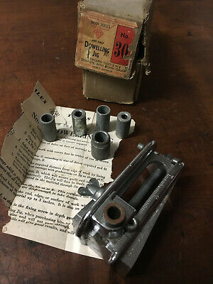 Vintage Silex Dowelling Jig No 30 Boxed, Made in Australia