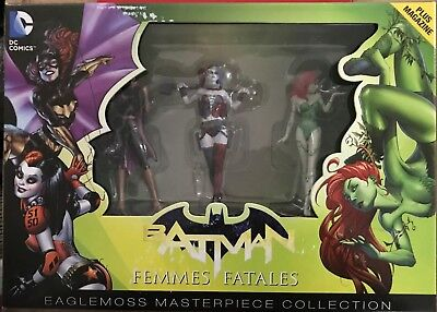 Eaglemoss Batgirl Harley Quinn Poison Ivy Batman Masterpiece Collection