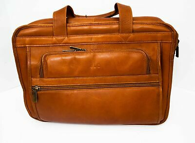 15608d47fd4b CLAIRE CHASE EXECUTIVE Leather Laptop Briefcase X-wide, Computer Bag ...