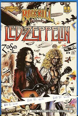 LED ZEPPELIN Rock N Roll Comic Book Number 13 July 1990 First Printing ZOSO COOL