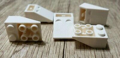 LEGO New Lot of 25 White 2x1 Inverted City Modular Roof Slope Pieces