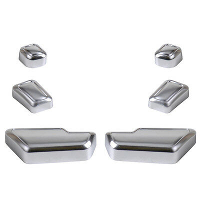 Chrome Door Seat Adjust Button Switch Cover Trim Set for Benz E Class W212 GW