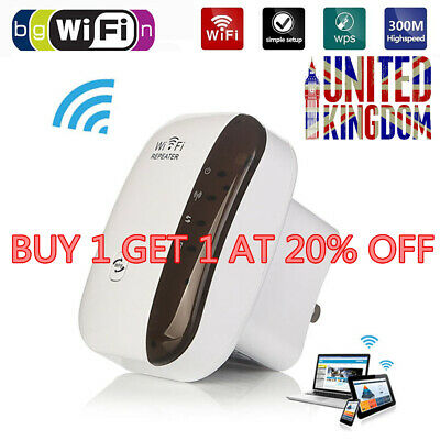 300Mbps WiFiBlast Wireless Wifi Router Repeater Extender Booster Internet UK