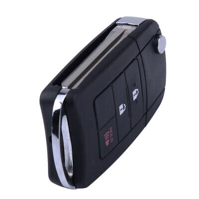 3 Button Remote Control Key Shell Case Cover Fob For Toyota RAV4 2014-2015