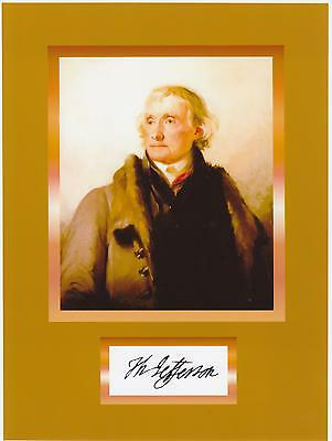 """Thomas Jefferson /""""do you want to know/"""" Autograph Quote 8 x 10 Photo Picture #dk2"""
