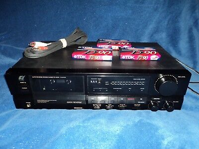 Vintage Sansui D-X111R Dolby Stereo Cassette Deck Tape Player/Recorder