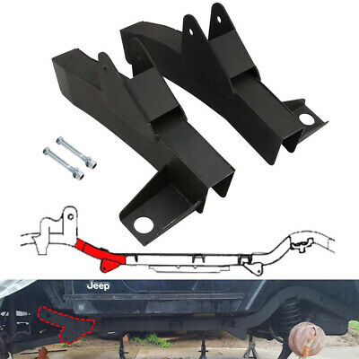 Front Driver Trail Control Arm Frame Repair for 97-06 Jeep Wrangler TJ LH RH