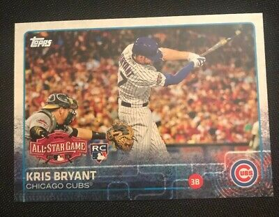 2015 Topps Update US242 Kris Bryant RC Rookie All Star Game Chicago Cubs