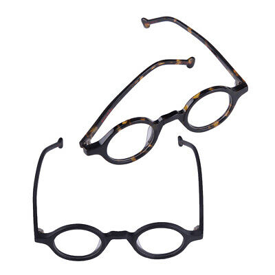260c57515aa52 Vintage 38mm Small Round Eyeglass Frames Metal Full Rim Optical unisex  Glasses