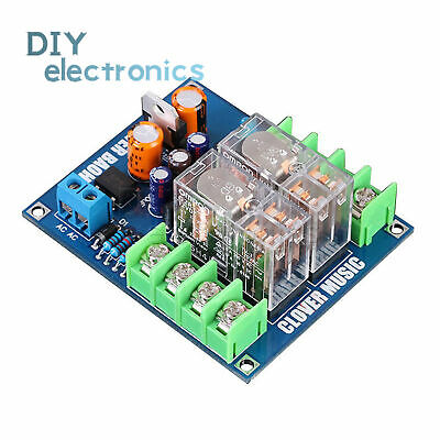Dual OMRON Relay 7812+UPC1237 Speaker Horn Protection Board for DIY AC12-24V US