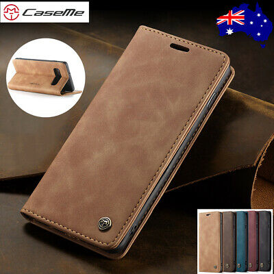 For Samsung S10 5G S9/8 S7 Edge Note 10 Plus Leather Flip Wallet Case Card Cover